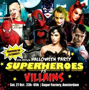 Get Tix for Halloween Amsterdam!